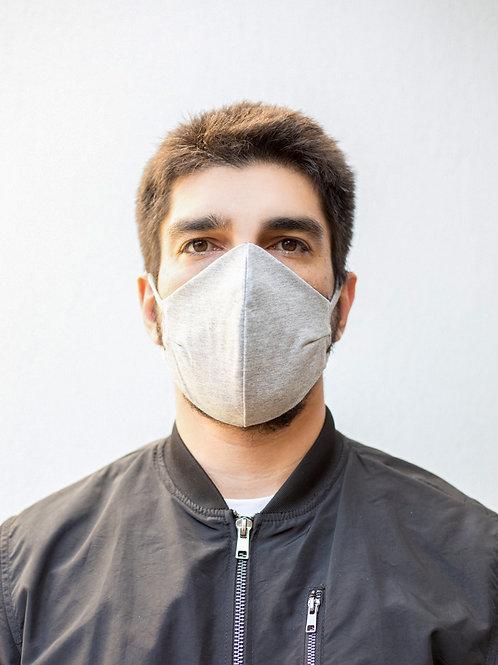 Kit com 3 máscaras reutilizáveis