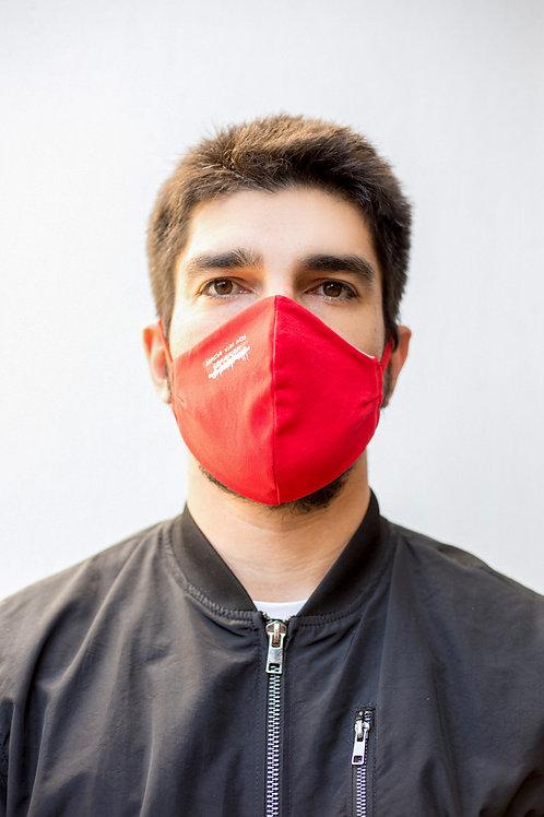 Máscara do Inter - Nada Vai Nos Separar