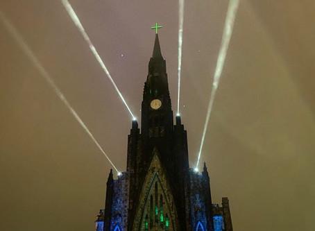 Horário do show de luzes da Catedral de Pedra, em Canela
