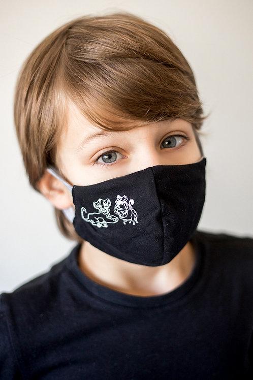 Máscara de Proteção Leãozinhos