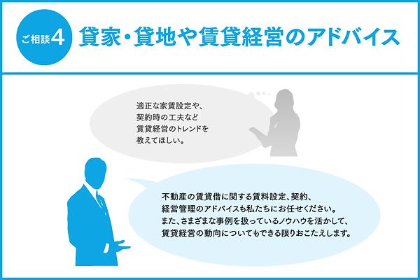 不動産の賃貸借に関する賃料設定、契約、経営管理のアドバイスもお任せください
