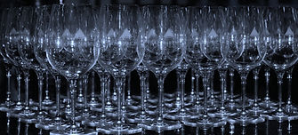 WINE GLASSES SAPPHIRE HILL HEALDSBURG SONOMA COUNTY CALIFORNIA