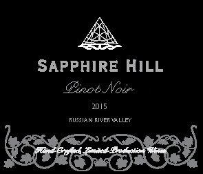 2015 Pinot Noir, Russian River Valley