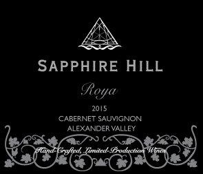 2015 Roya Cabernet Sauvignon Alexander Valley