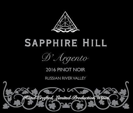 2016 D'Argento Pinot Noir
