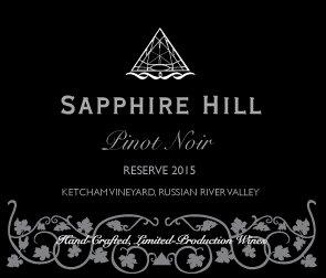 2015 Reserve Pinot Noir, Russian River Valley