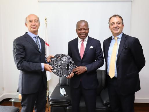 Itália vai continuar a colaborar com o empresariado moçambicano