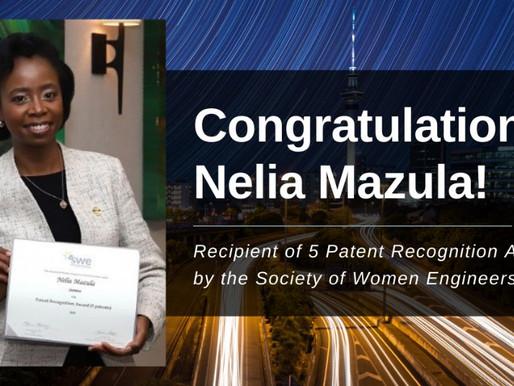 Nélia Mazula ganha Prémio de Mulheres Engenheiras