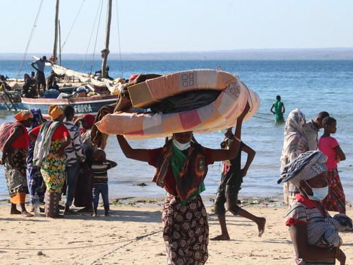 Autoridades de Cabo Delgado pedem apoio para abrigar os deslocados
