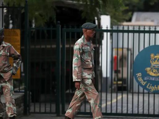 África do Sul aprova o uso de 1.495 militares para ajudarem Moçambique a  combater aos insurgentes