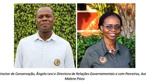 O Projecto da Gorongosa nomeou dois novos Directores