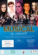 AFFICHE Musical in Concert 6 oktober Uit