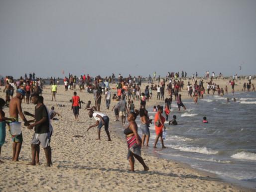 18 praias encerradas devido a desobediência dos utentes