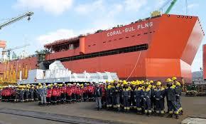 Plataforma para produção de gás chega a Moçambique no primeiro trimestre de 2022