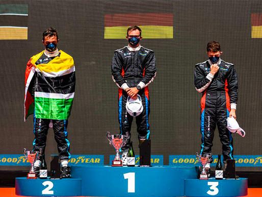 Mozambique's Rodrigo Almeida finishes second in BMW M2 Cup