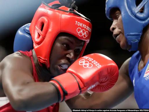 Tóquio - 2020: Pugilista moçambicana Alcinda Panguana nos quartos-de-final