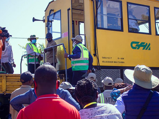 Mozambique: Nyusi lays first stone for Tete railway reconstruction