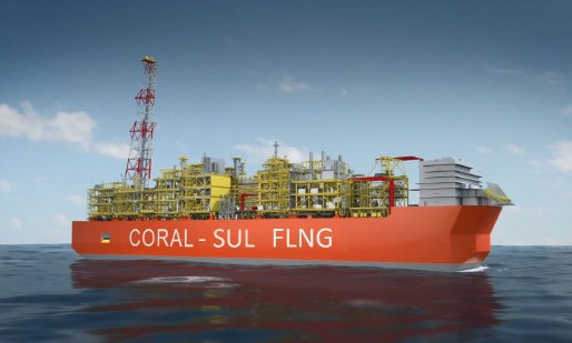 Mozambique on track for 2022 startup at Coral South LNG project: minister