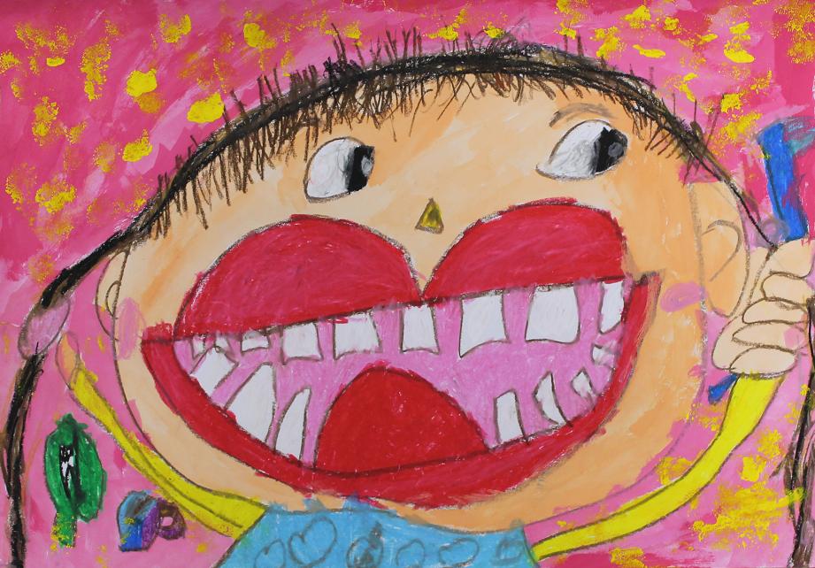 歯・口の健康に関する図面・ポスター 天賞