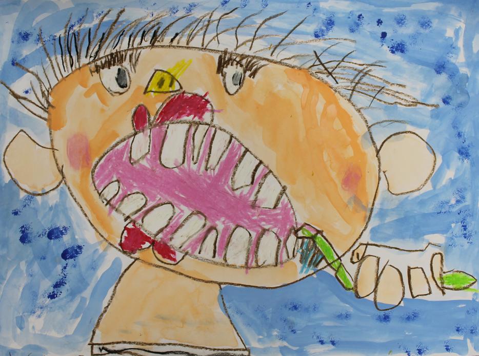 歯・口の健康に関する図面・ポスター 地賞