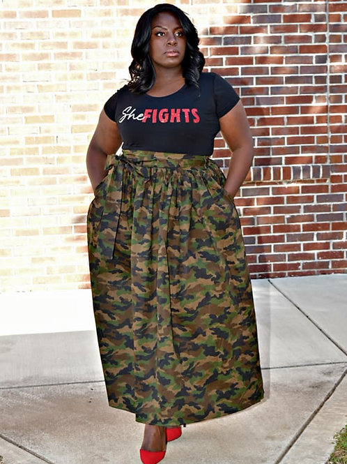 Warrior Maxi Skirt