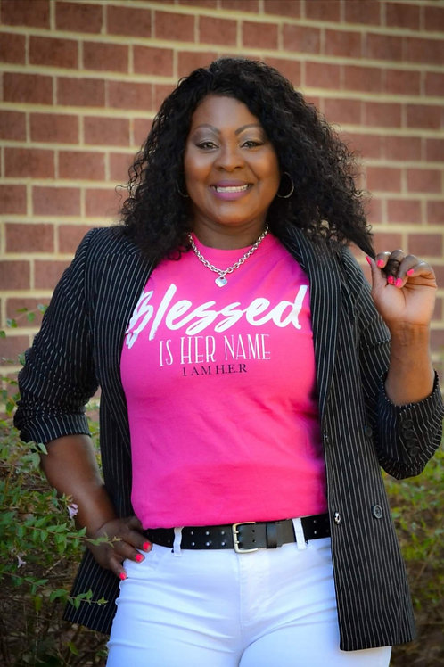 Blessed Is Her Name Tee