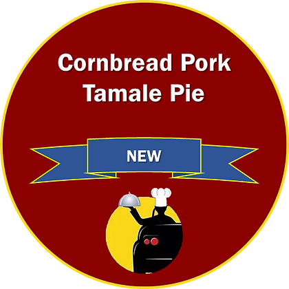 Cornbread Pork Tamale Pie