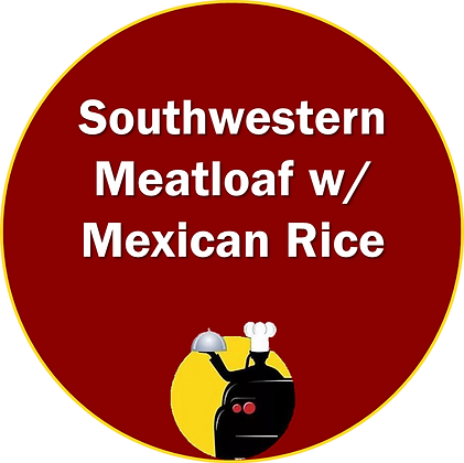Southwestern Meatloaf with Mexican Rice