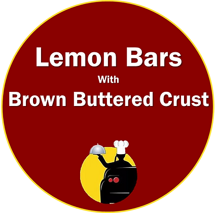 Lemon Bars with Browned Butter Crust
