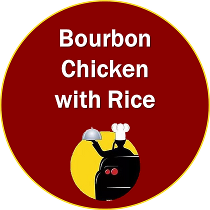 Bourbon Chicken with Rice