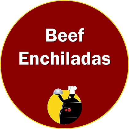 Ground Beef Enchiladas w/ Side of Rice or Beans