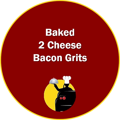 Baked 2 Cheese Bacon Grits