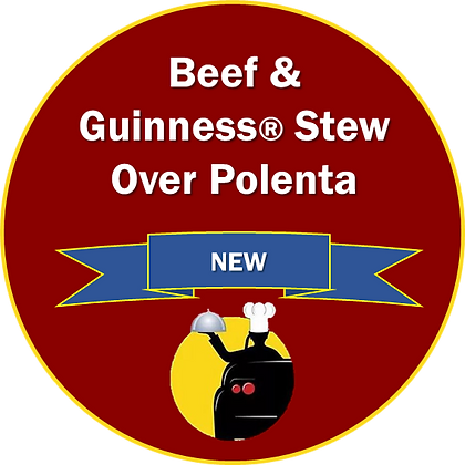 Beef & Guinness® Stew Over Polenta