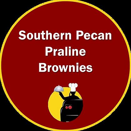 Southern Pecan Praline Brownies