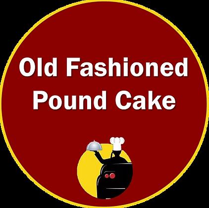 Old Fashioned Pound Cake
