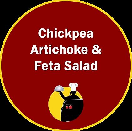 Chickpea, Artichoke & Feta Salad