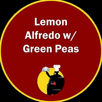 Lemon Alfredo w/ Green Peas