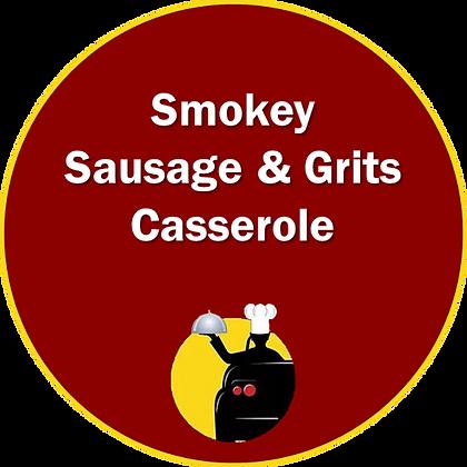 Smokey Sausage & Grits Casserole