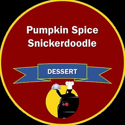 Dessert - Pumpkin Spice Snickerdoodle