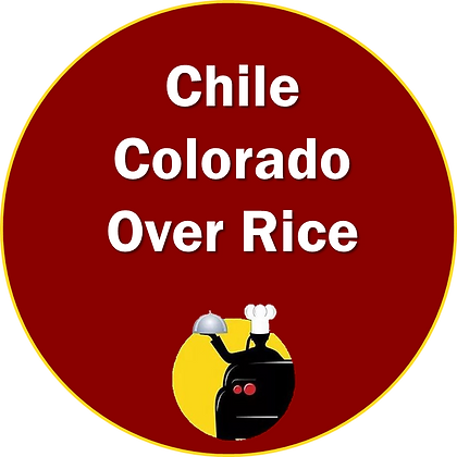 Chile Colorado Beef Over Rice