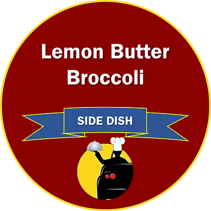 Side Dish - Lemon Butter Broccoli