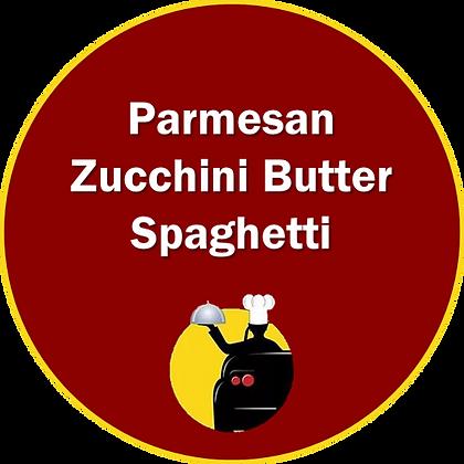 Parmesan Zucchini Butter Spaghetti