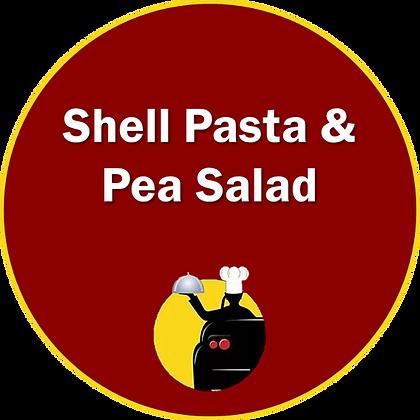 Shell Pasta & Pea Salad