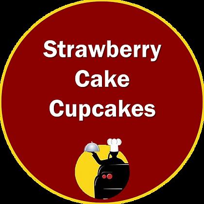 Strawberry Cake Cupcakes