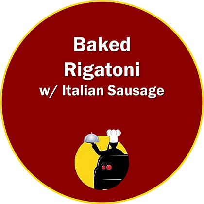 Baked Rigatoni w/ Italian Sausage