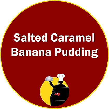 Salted Caramel Banana Pudding