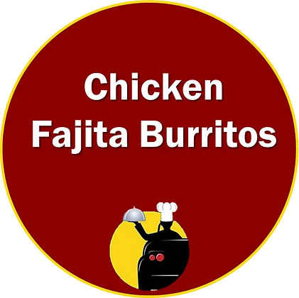 Chicken Fajita Burritos
