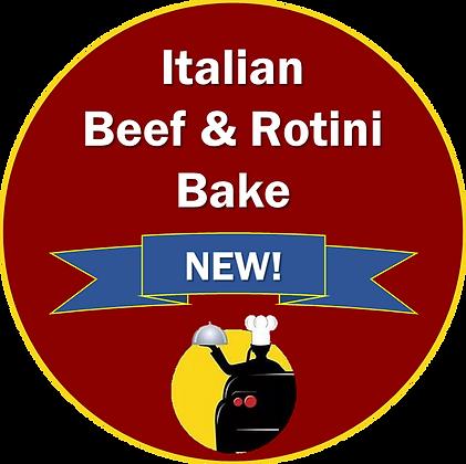 Italian Beef & Rotini Bake