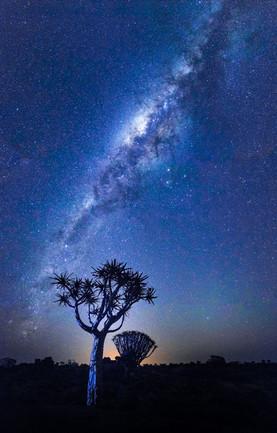 Milchstrasse Namibia