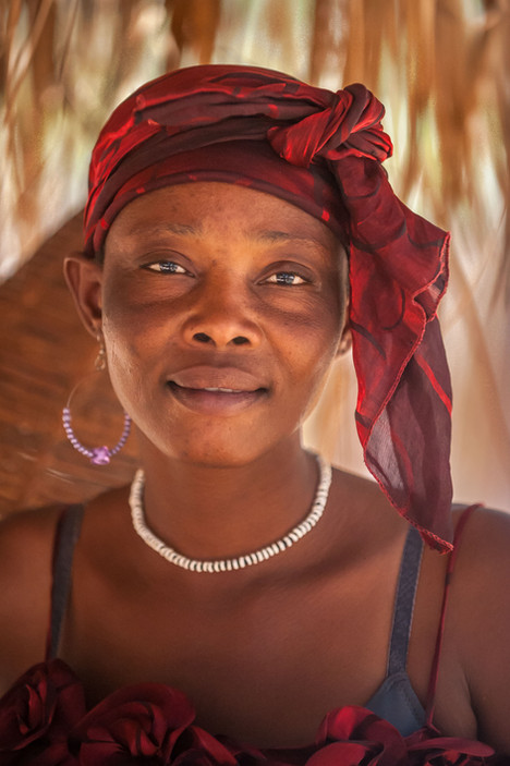 Marktfrau Epupa